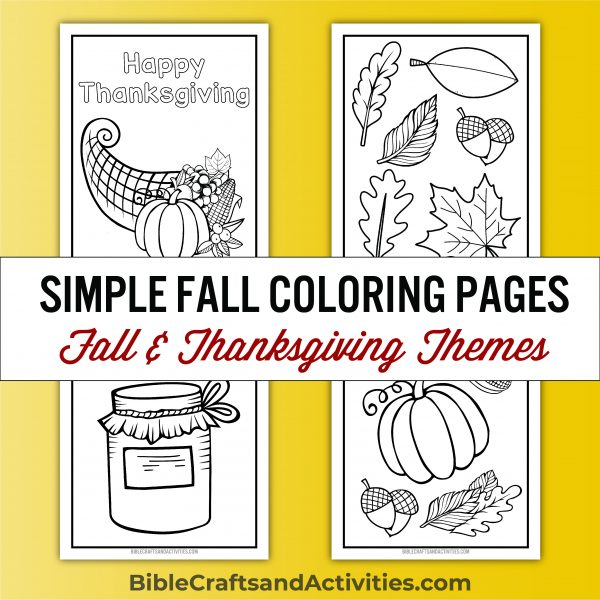 fall thanksgiving coloring pages cornucopia pumpkin leaves canning jar
