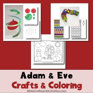 adam and eve crafts and coloring-01
